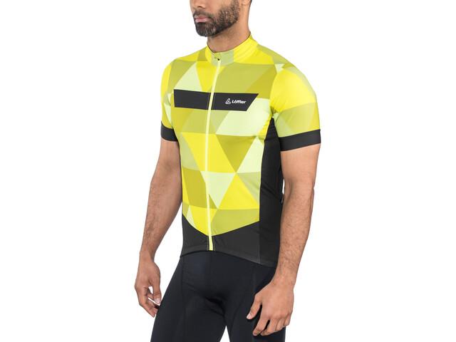 Löffler Metric Bike Trikot Full-Zip Herren zitrone